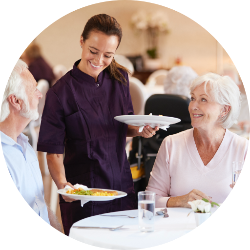 As a dining staff member at Bethesda Health Group, you will develop relationships with our residents in a fun and supportive work environment.