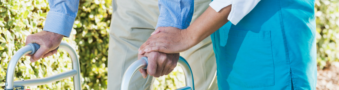 Our dedicated healthcare workers support our residents in their daily lives.