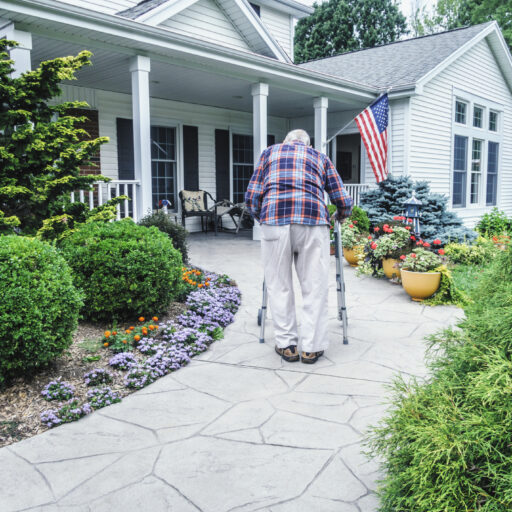 Home safety tips for aging in place