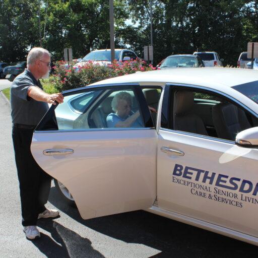 Bethesda St. Louis resident transportation services