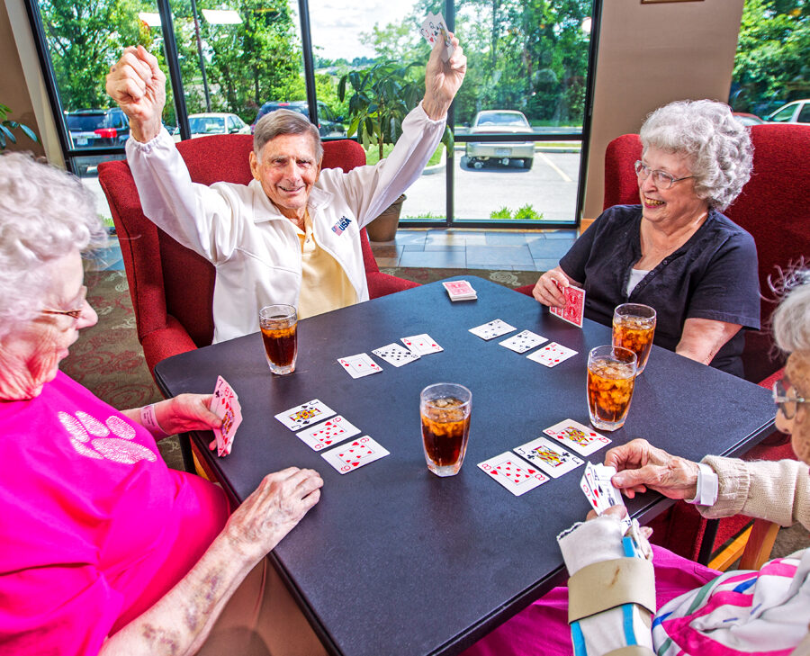 Bethesda Southgate offers activities and opportunities for socialization for seniors