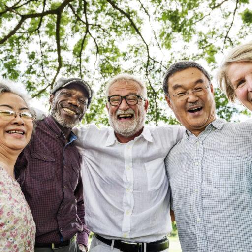 Senior friendship is important. Bethesda celebrates National Friendship Day.