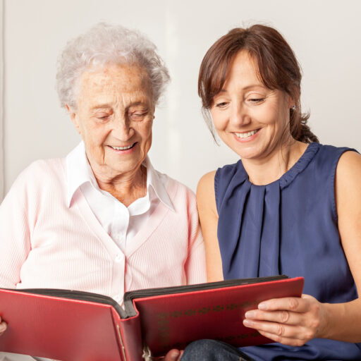 Caring for a senior with dementia is a difficult task for adult children and caregivers alike.