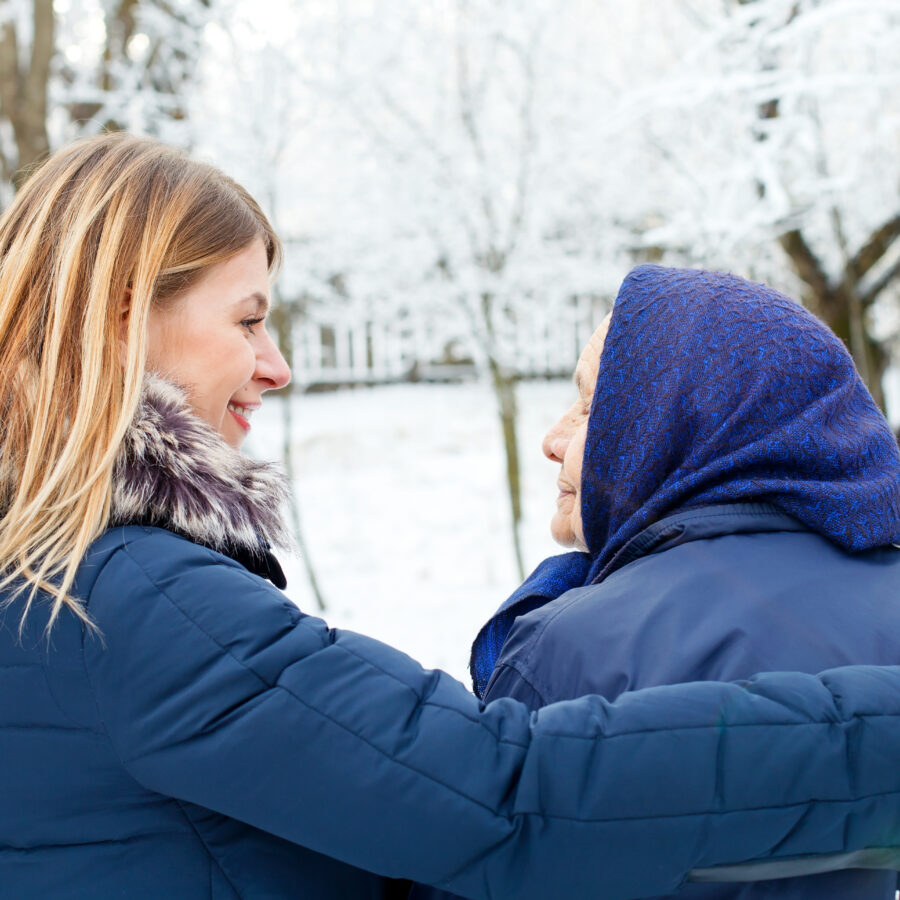 Winter safety tips for older adults include dressing warmly, avoiding risky driving situations, and preparing your home for power outages.