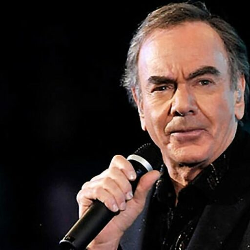 Famous musician Neil Diamond, who is now coping with Parkinson's Disease.