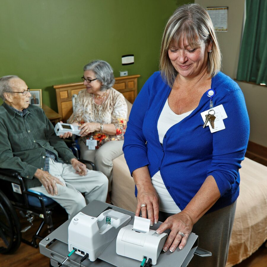Bethesda Skilled Nursing Communities utilize technology advancements for a higher level of care.