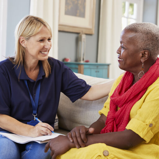 Care Managers help seniors and their families navigate the complexities of healthcare to help with both major decisions and daily tasks.