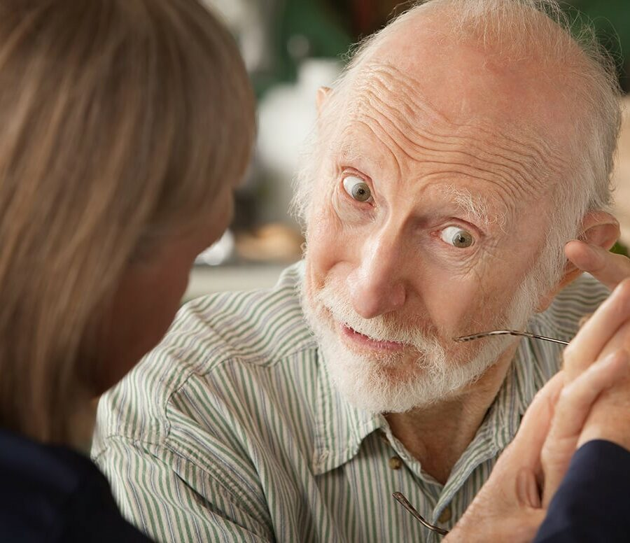 When a senior doesn't realize having dementia, it can cause issues and stress for caregivers and the senior's family.