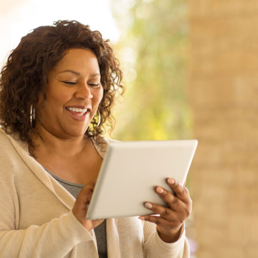 technology allows for long-distance caregiving for older adults and seniors