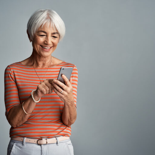 There are many useful apps and features on smartphones for seniors aging in place