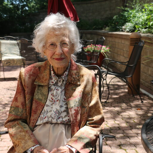 Peg Sharp, resident of Bethesda Gardens, has been exploring the world since she was a child, and she continues this mentality in her retirement.