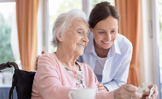 Volunteering has been shown to help seniors live longer, healthier lives.
