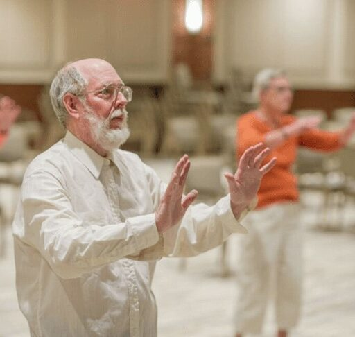 Low-impact exercises like tai chi can help seniors with balance