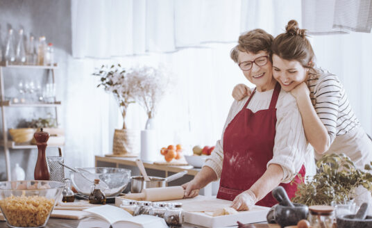 Keep your senior loved ones engaged during holiday gatherings by keeping them involved in activities such as baking, cooking, or reminiscing with family.