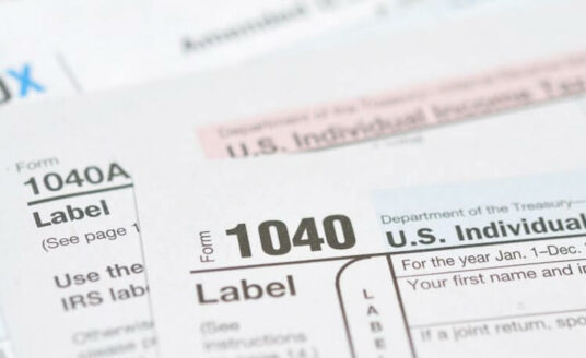 Looking at a 1040 to plan for tax law changes