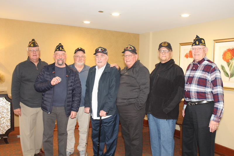 Bethesda Barclay House had a ceremony to welcome home Vietnam veterans