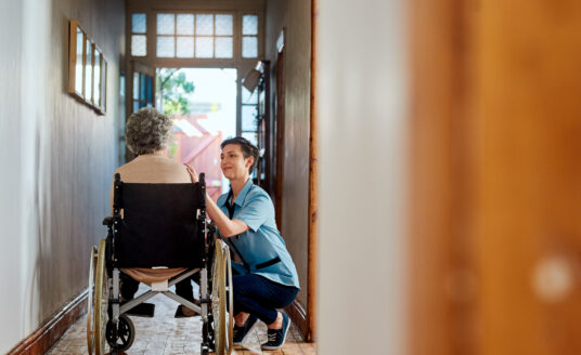 In-home care can help create an optimal healing environment