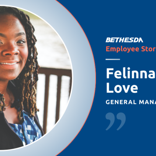 Felinna Love, General Manager of Bethesda's Village North Retirement Community talks about her experience and career in healthcare