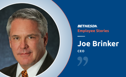 Joe Brinker, CEO of Bethesda Health Group, talks about his long-standing career at the company, beginning as an Assistant Administrator in 1989.