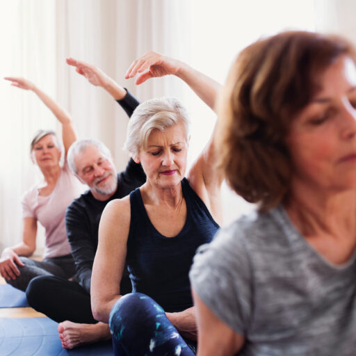 There are many benefits from doing yoga that can keep us strong and healthy