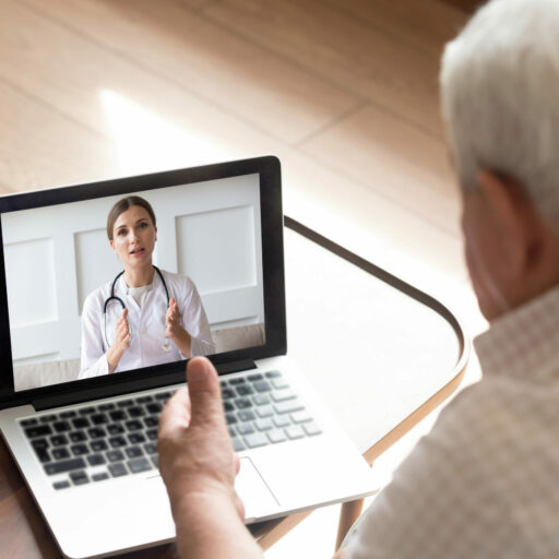 Telemedicine appointments allow seniors to keep connected with their doctors even during a pandemic