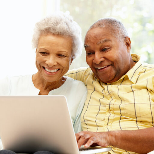 Seniors can stay connected to family and friends via social media