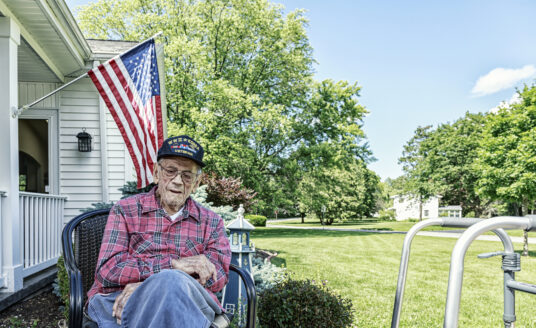 Depression in Veterans is a common concern.