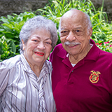 Alice and Ron J. from Bethesda Gardens
