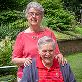 Janet and Ron S. from Bethesda Gardens