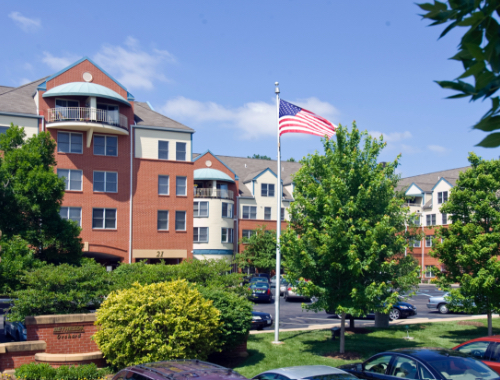 Outside of Bethesda Orchard independent living community