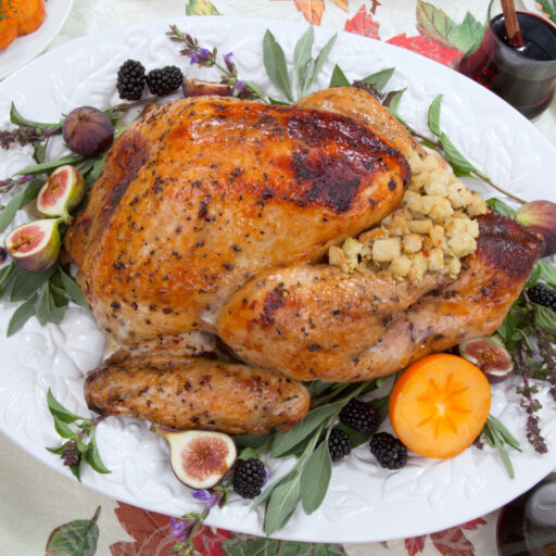 When you watch nutrition information, you can celebrate a healthy Thanksgiving, turkey and all!